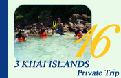 Private Trip to 3 Khai Islands