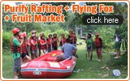 Purify Rafting + Flying Fox + Fruit Market