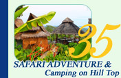Safari Adventure and Camping on Hill Top