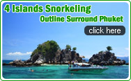 4 Islands Snorkeling Outline Surround Phuket