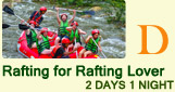 Rafting for Rafting Lover